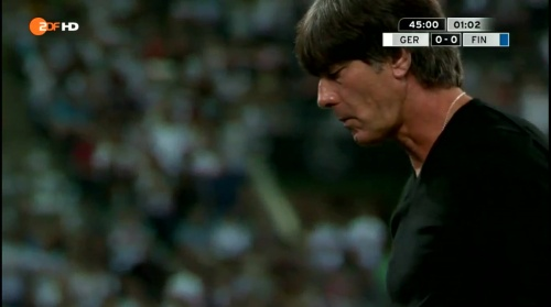 Joachim Löw – Deutschland v Finnland first half 12