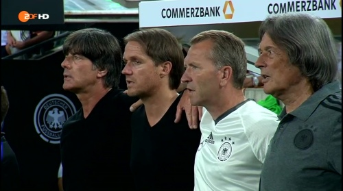 Joachim Löw – Deutschland v Finnland first half 2