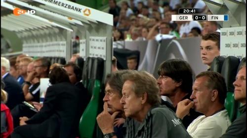 Joachim Löw – Deutschland v Finnland first half 7