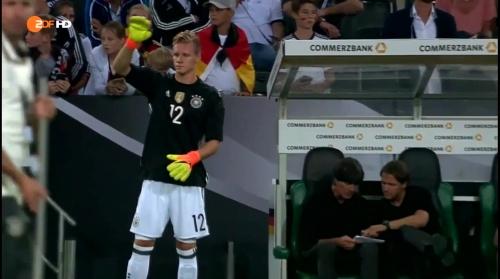 Joachim Löw – Deutschland v Finnland second half 1