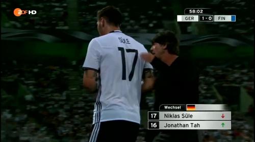 Joachim Löw – Deutschland v Finnland second half 3