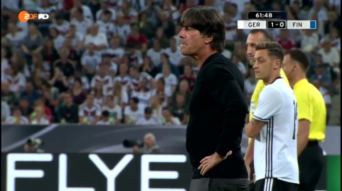 Joachim Löw – Deutschland v Finnland second half 4