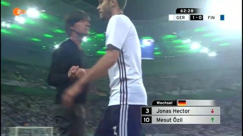 Joachim Löw – Deutschland v Finnland second half 5