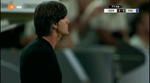 Joachim Löw – Deutschland v Finnland second half 6