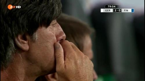 Joachim Löw – Deutschland v Finnland second half 7