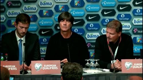 Joachim Löw – Norwegen v Deutschland PK 2