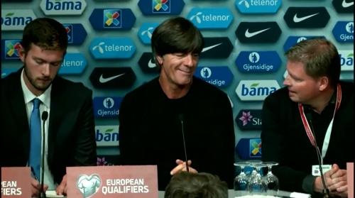 Joachim Löw – Norwegen v Deutschland PK 4