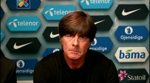 Joachim Löw – Norwegen v Deutschland PK 5