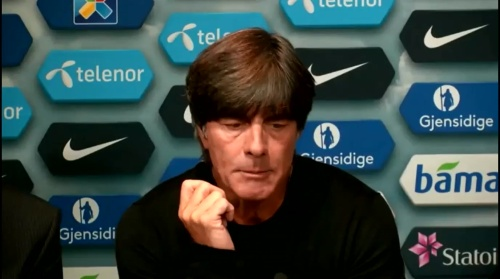Joachim Löw – Norwegen v Deutschland PK 6