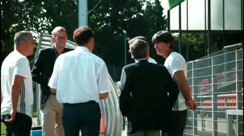 Joachim Löw - Letztes Training in Düsseldorf 02-09-16 2