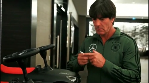 Joachim Löw - Letztes Training in Düsseldorf 02-09-16 6
