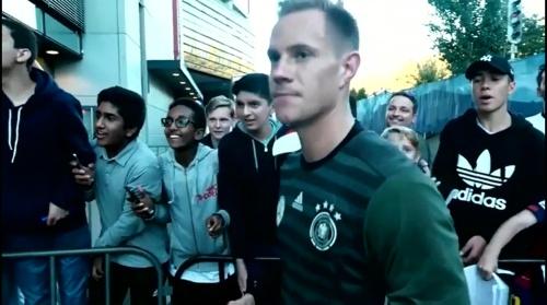 Marc-Andre ter Stegen - Der Tag vor dem Spiel in Oslo 2