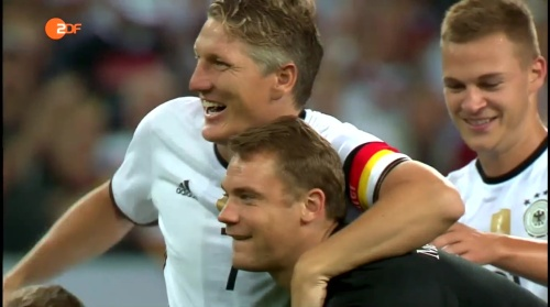 Müller, Schweinsteiger & Neuer – ZDF heute sport 01-09-16 1