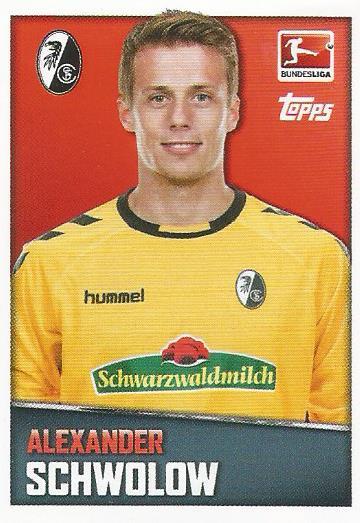 alexander-schwolow-sc-freiburg-2016-17-bundesliga-sticker