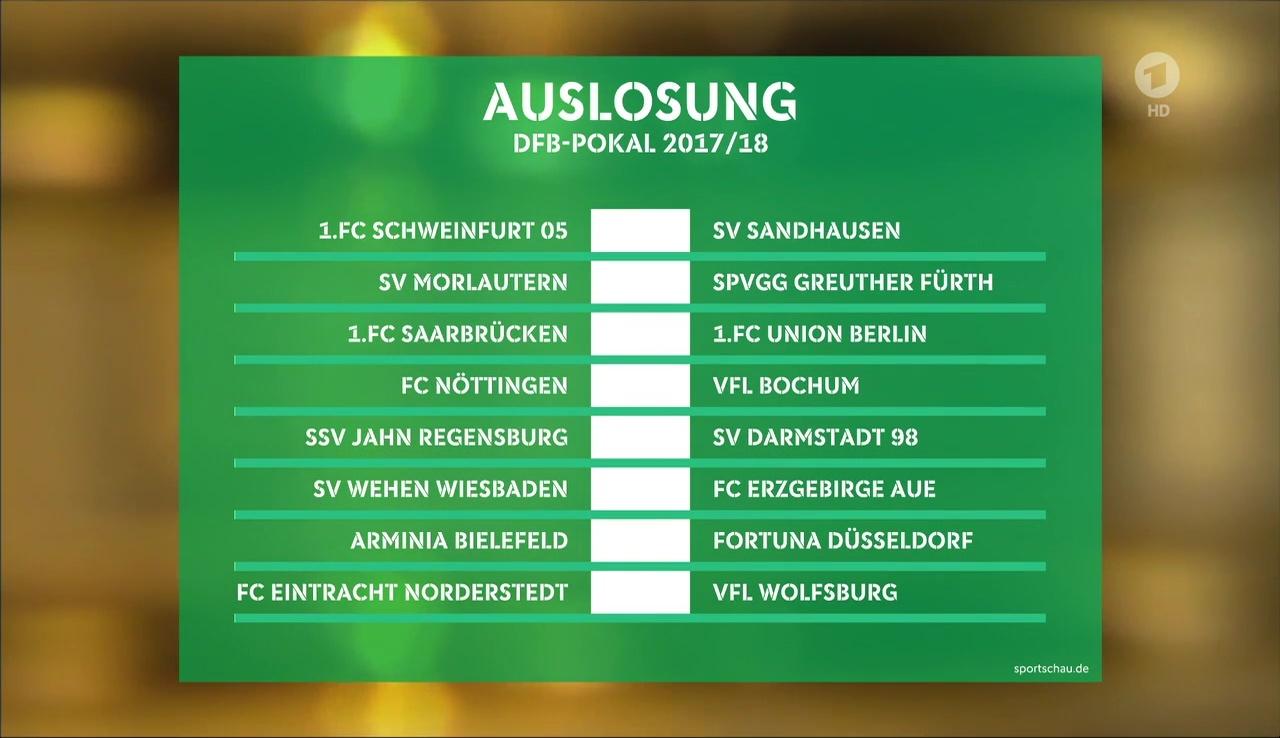 dfb pokal 2019 3. runde