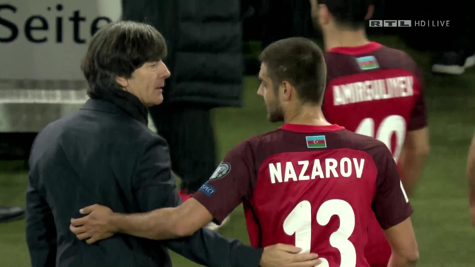 Deutschland Aserbaidschan Highlights